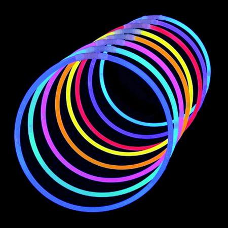 Light Up Glow In Dark Sticks Bright Neon Glo Lite Stix 8' Bracelet Necklace 350pcs](Neon Bracelets And Necklaces)