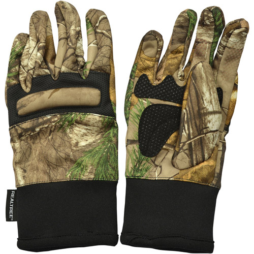 Realtree Youth Midweight Gloves, Realtree Xtra