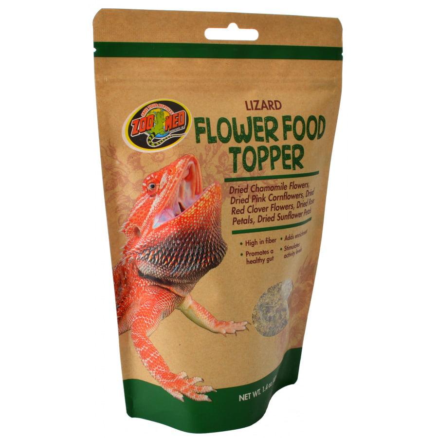 Zoo Med Lizard Flower Food Topper 1.4 oz - Pack of 12