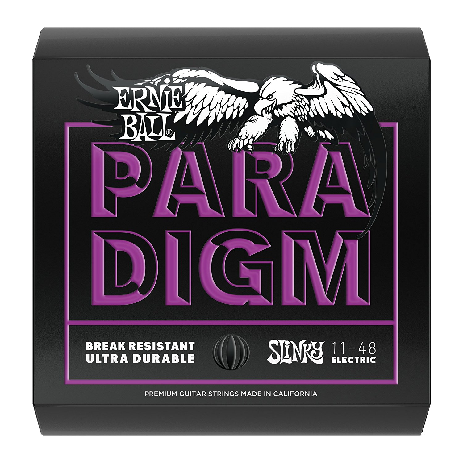 2020 Paradigm Electric Guitar String, Power Slinky, Ernie Ball's New state-of-the-art wire... by