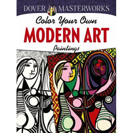 Color Your Own Modern Art Paintings