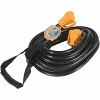 Camco 55197 RV 50' 30-Amp Male and 30-Amp Female PowerGrip Extension Cord