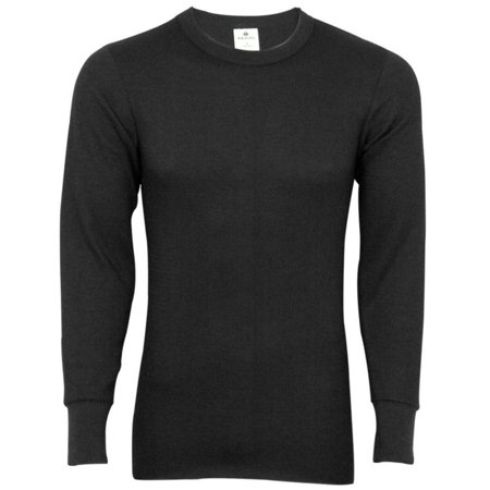Indera - Mens Long Sleeve Thermal Top 800LS - Choose Regular, Tall, Extra Size or King Size - Base Layer - 30 Day Guarantee - FREE SHIPPING (Tall Thermal)