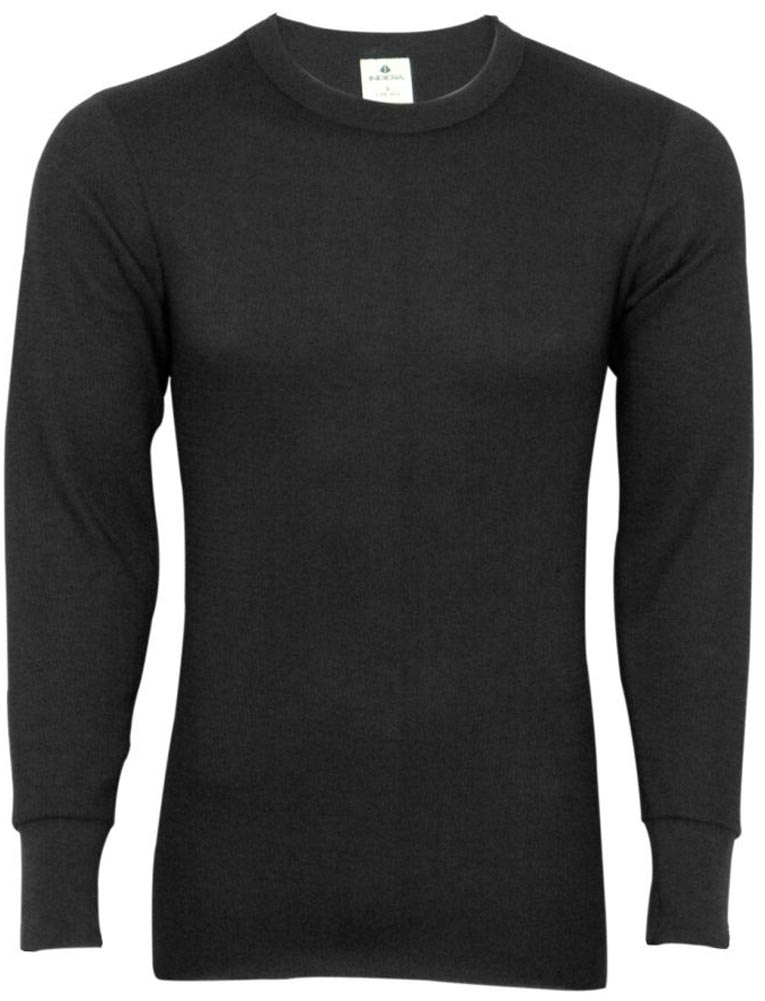 Indera - Mens Long Sleeve Thermal Top 800LS - Choose Regular, Tall, Extra Size or King Size - Base Layer - 30 Day Guarantee - FREE SHIPPING