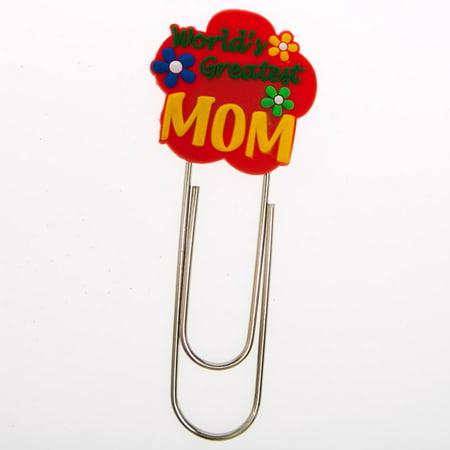 - World's Greatest Mom Clip Bookmark