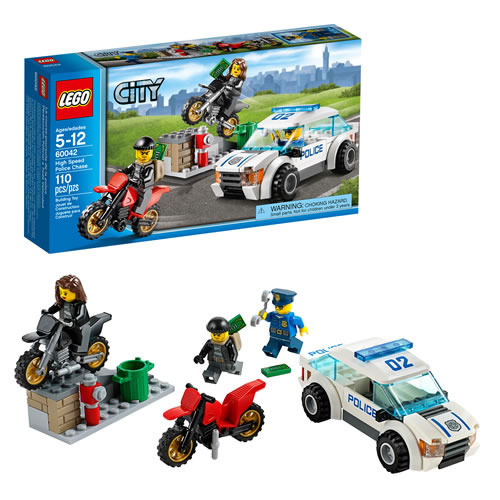 LEGO(R) City Police High Speed Police Chase (60042)