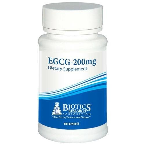 Biotics Research - EGCG 200mg 60 Tablets 7450 Exp.9.18+ SD