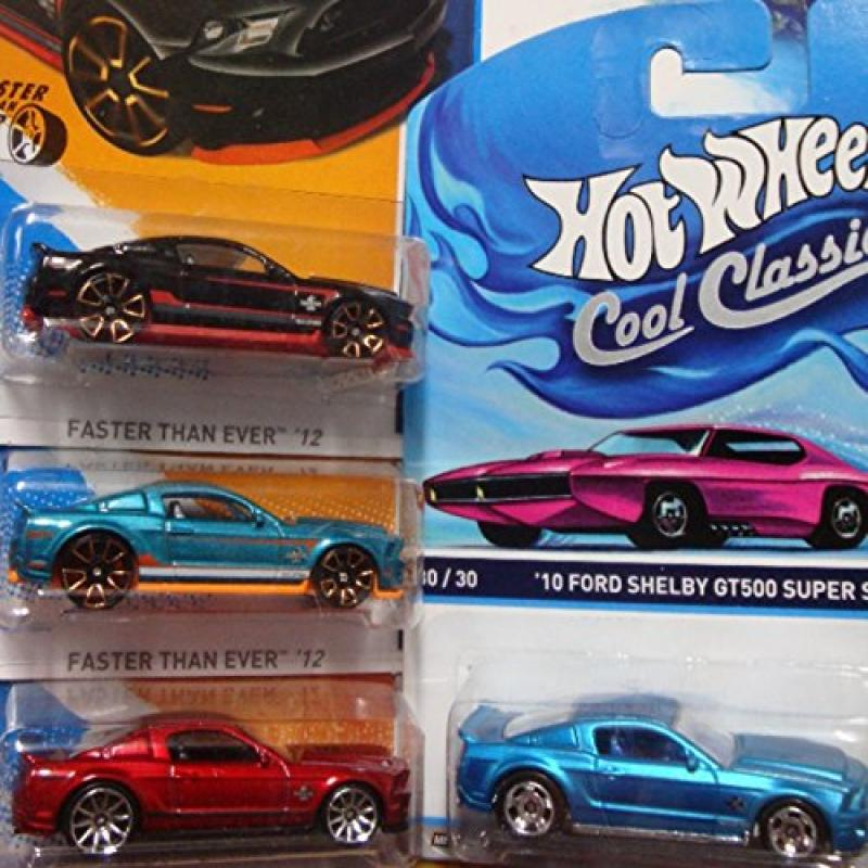 Hot Wheels Detailed Diecast 2010 Ford Shelby GT-500 Super...