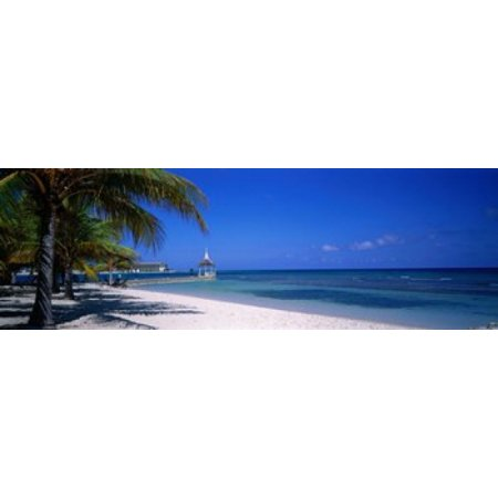 Montego Wine - Beach At Half Moon Hotel Montego Bay Jamaica Poster Print