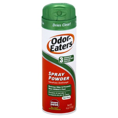 Odor-Eaters Deodorant Foot Spray, Eliminates Odor, Anti-fungal, 4
