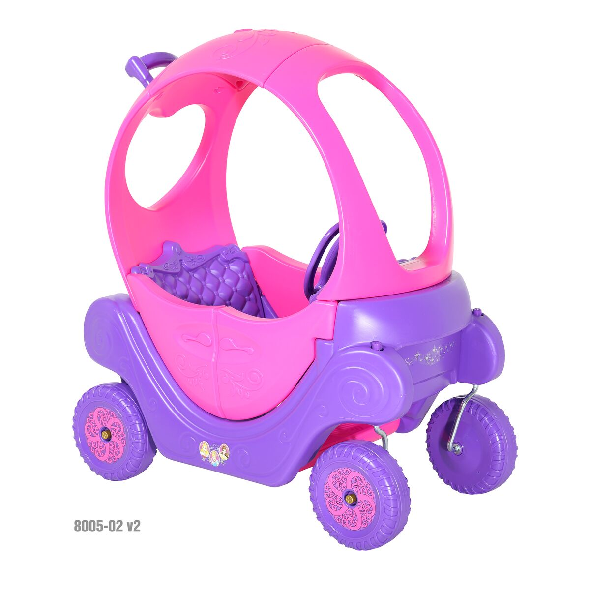 Disney Princess Princess Preschool Carriage by Dynacraft