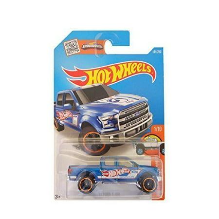 Hot Wheels, 2016 HW Hot Trucks, '15 Ford F-150 [Blue] #141/250