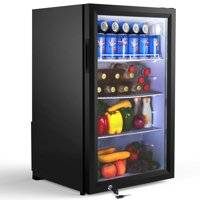 Famistar 126 Can Beverage Refrigerator and Cooler