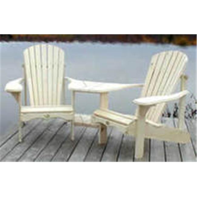 Bear Chair BC950C Cedar Angled Tete A Tete Kit