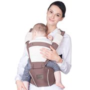 Bebamour New Style Designer Sling and Baby Carrier 2 in 1Approved by U.S. Safety Standards (Light Pink)