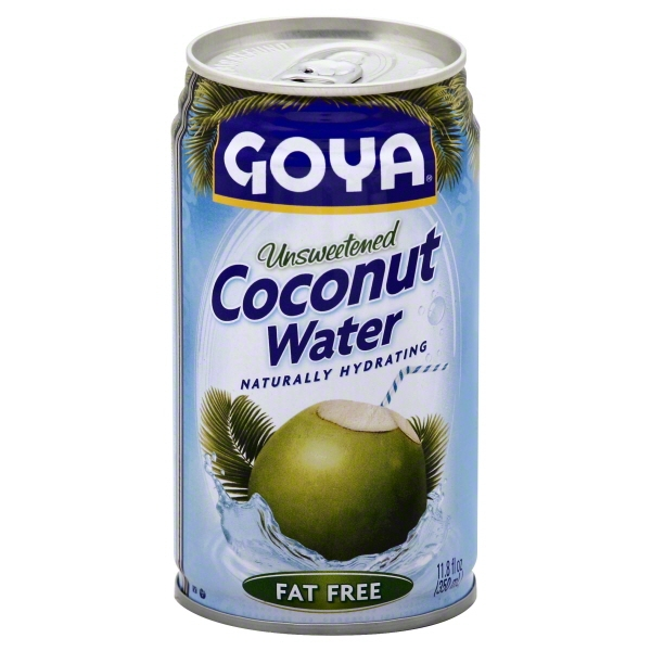 Goya Coconut Water, Unsweetened, 11.8 Fl Oz, 1 Count