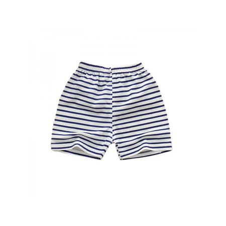 Lavaport Summer Kids Baby Boys Girls Children Stripe Cartoon Shorts