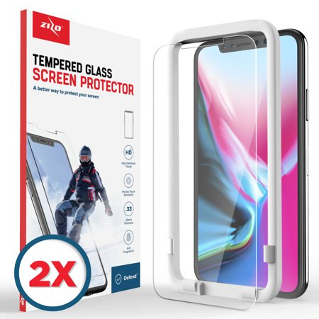 Lighting Shield (Zizo Lightning Shield Apple iPhone X Tempered Glass Screen Protector )