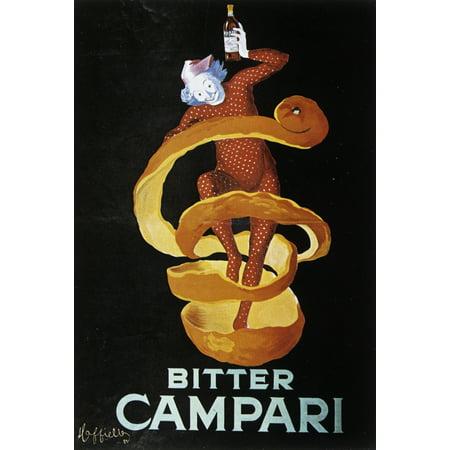Bitter Campari Canvas Art     18 X 24
