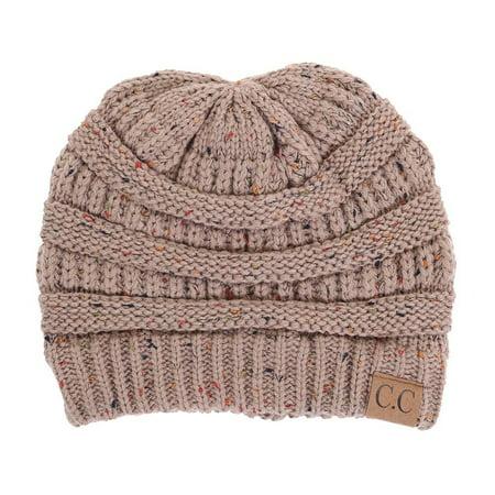 CC Confetti Knit Beanie - Thick Soft Warm Winter Hat 459208cdf77c