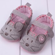 Kacakid Toddler Baby Little Mouse Crib Shoes Boy Girls Casual Shoes 0-12M