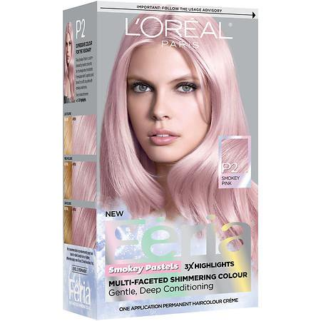 L'Oreal Paris Feria Smokey Pastels Permanent Haircolor ...