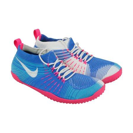 f2c53c76e191 Nike - Nike Hyperfeel Cross Elite Womens Blue Textile Athletic Lace Up  Running Shoes 8 - Walmart.com