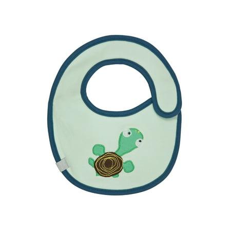 Waterproof Small Bib Wildlife Turtle 0 6 Mo