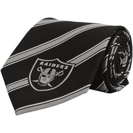 Oakland Raiders Woven Poly Tie - No Size