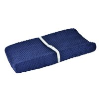 Gerber Baby Boy Navy Cozy Popcorn Changing Pad Cover