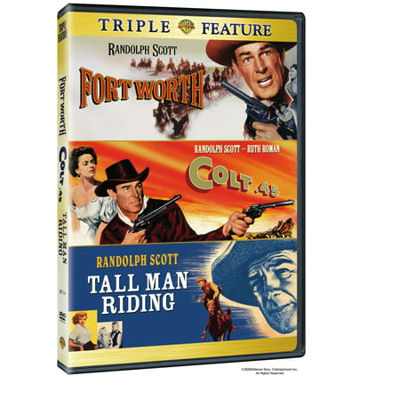 Colt 45 / Fort Worth / Tall Man Riding (DVD) (Halloween Stores In Fort Worth)