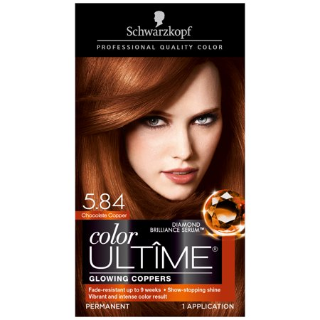 Schwarzkopf Color Ultime Permanent Hair Color Cream 5 84 Chocolate
