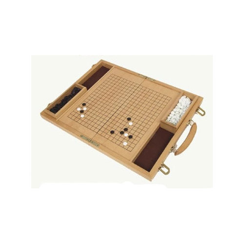 Classic Game Collection Deluxe Wood Go Board Game