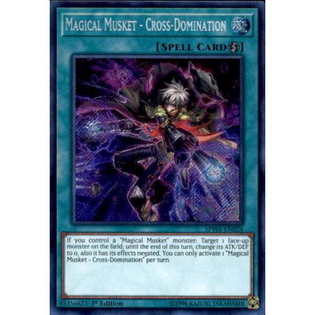 YuGiOh Spirit Warriors Magical Musket - Cross-Domination - Toy Muskets