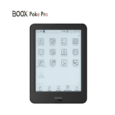 "NEW Model ebook Reader BOOX 6"" Poke Pro e-book 2G/16G Quad-core E-reader BT&WiFi Tou- e-ink Carta Screen Android"