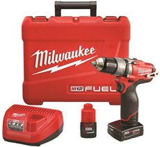 Milwaukee M12 Fuel 1/2 In. Hammer Drill/Driver