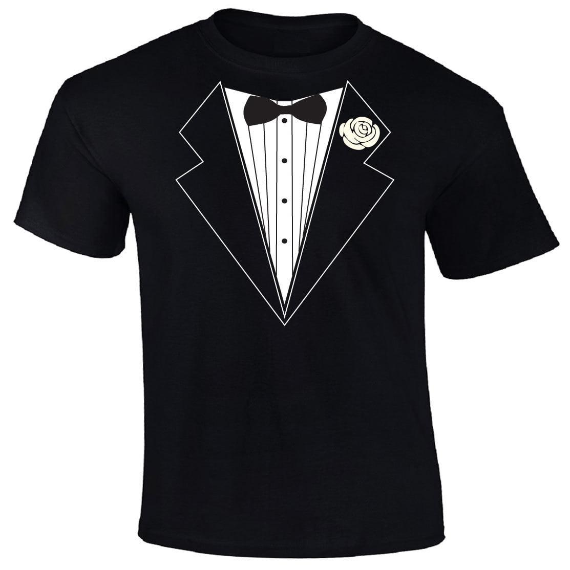 Tuxedo Tux Adult T-Shirt