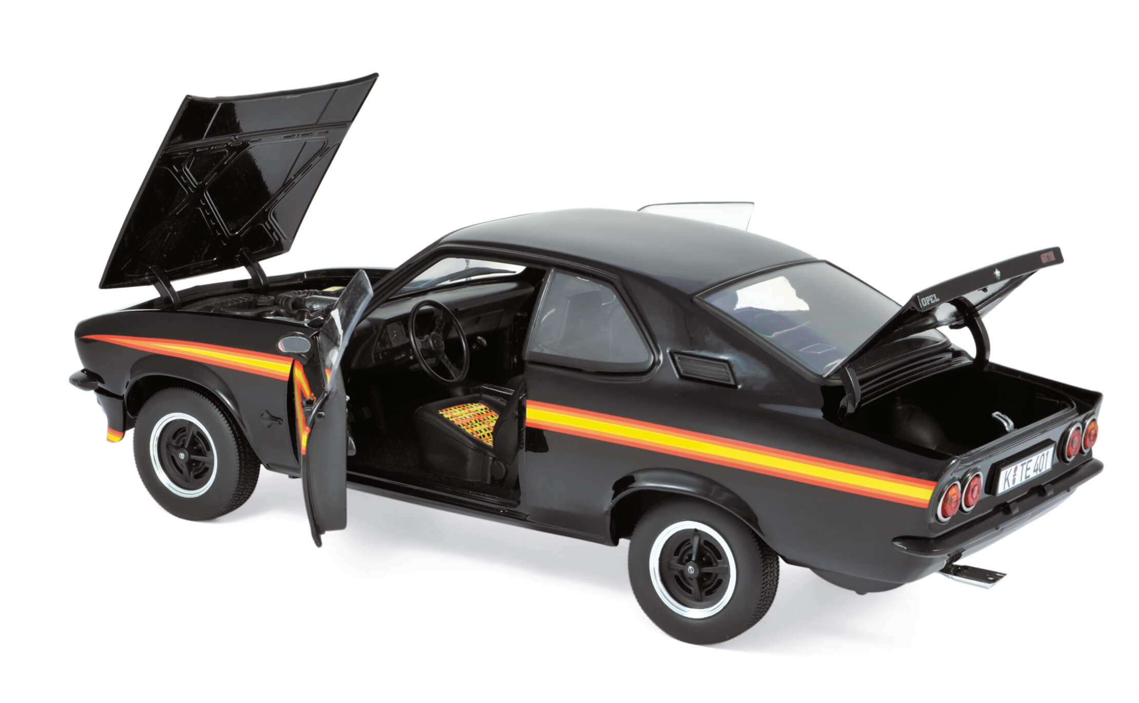 1:18  NOREV Opel Manta GT//E 1975 black-magic