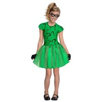 Riddler Costume Tutu Dress Skirt Batman Girls Child Kids Youth Outfit