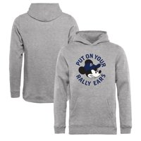 Tampa Bay Lightning Fanatics Branded Youth Disney Rally Ears Pullover Hoodie - Heathered Gray