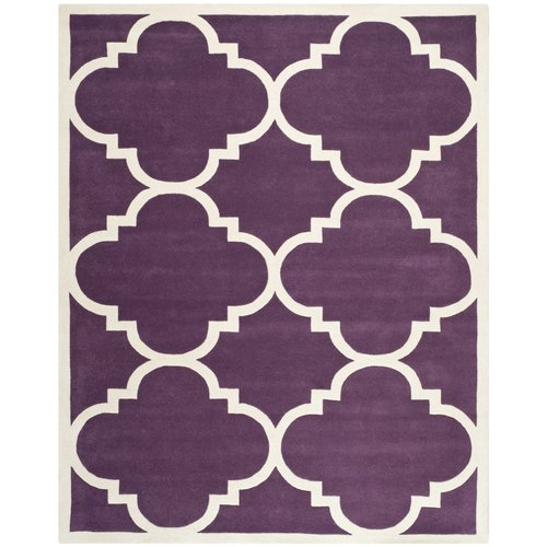 Safavieh Chatham Purple / Ivory Rug
