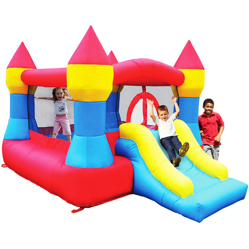Kidwise Castle Bouncer with Slide