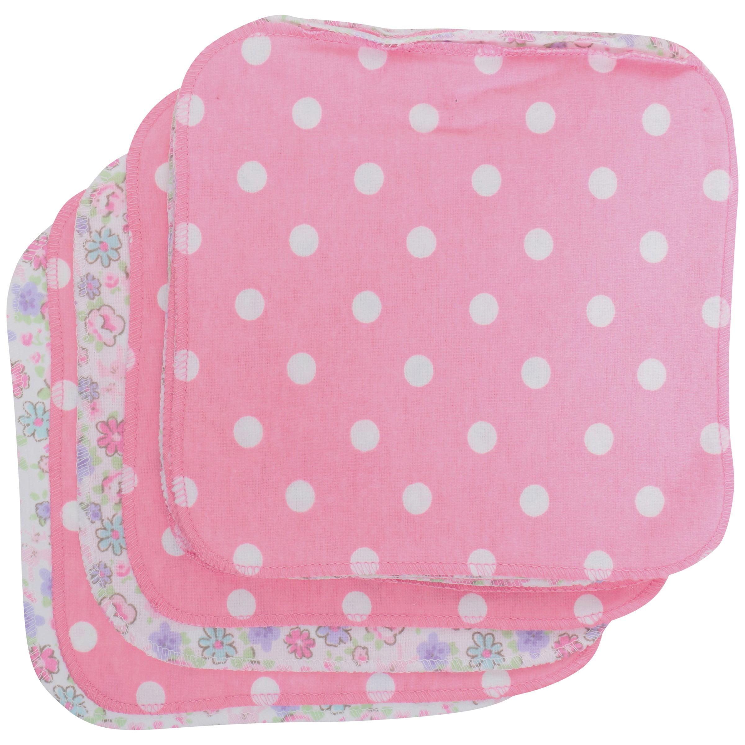 12-Pack Gerber Newborn Baby Boy Reusable Flannel Wipes