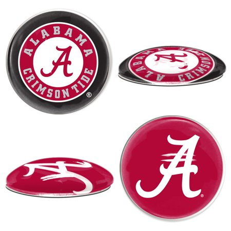 Alabama Crimson Tide Official NCAA  Sport Dotts Magnet 2 Pack by Wincraft