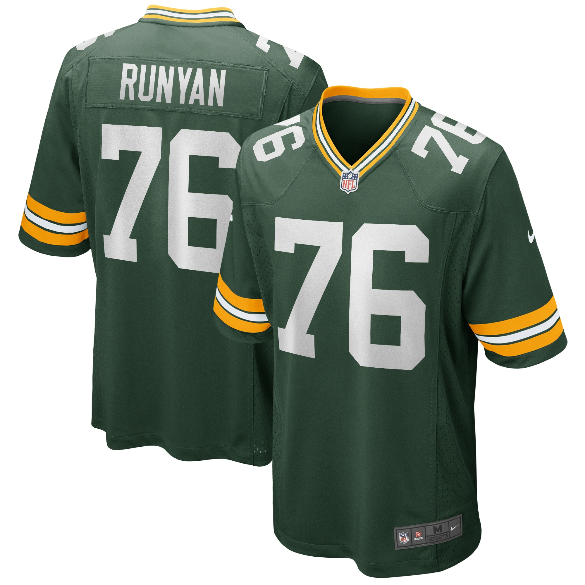 Jon Runyan Green Bay Packers Nike Player Game Jersey - Green - Walmart.com