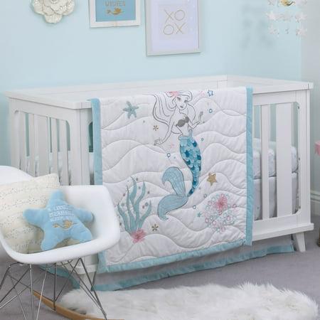 Baby Crib Bedding Set By Disney Ariel Sea Princess. The Little Mermaid Bedroom Set   Home Design