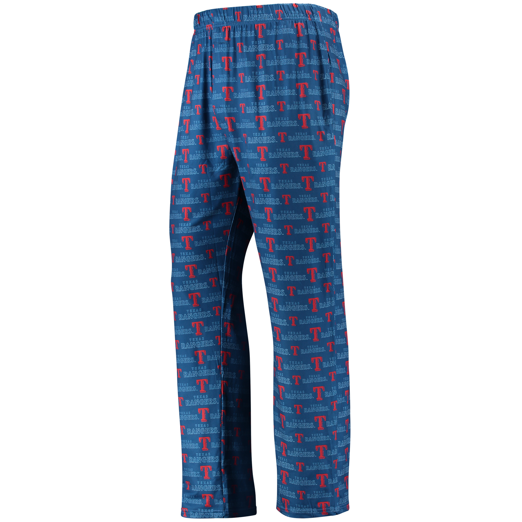 Texas Rangers Thematic Polyester Print Pants - Red