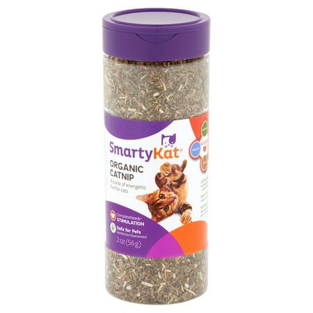 SmartyKat Certified Organic Catnip, 2 oz. Canister (Bubble Catnip)