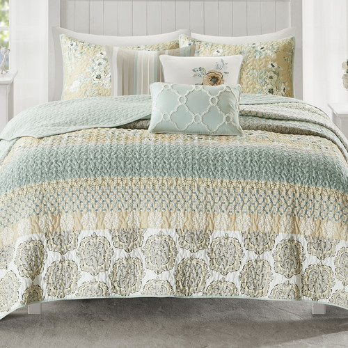 August Grove Tappen 6 Piece Coverlet Set by