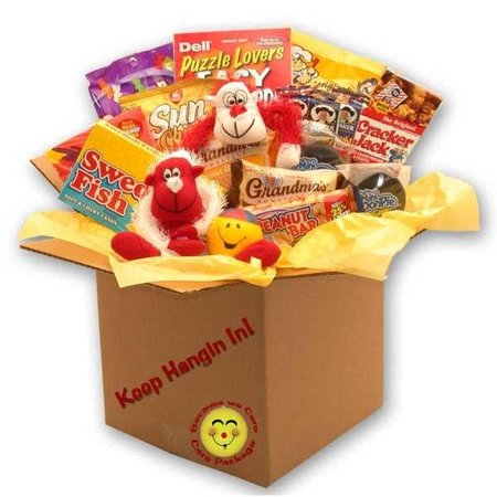 Gift Basket Drop Shipping Keep Hangin In There Care Package ()